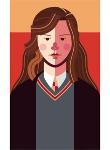 Ímã - Hermione Granger - Harry Potter