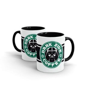 Caneca Star Wars - Dark Side Coffee
