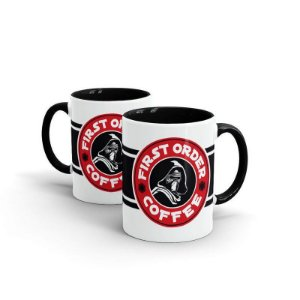 Caneca Star Wars - First Order Coffee
