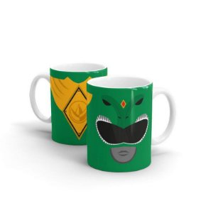 Caneca Power Rangers - Ranger Verde