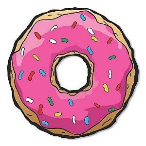 Placa Decorativa Os Simpsons - Donuts 30x30