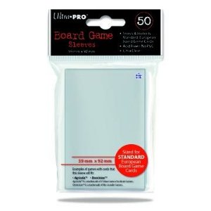 Sleeves Ultra PRO 59 x 92 mm – com 50 (Standard European) - para Dominion