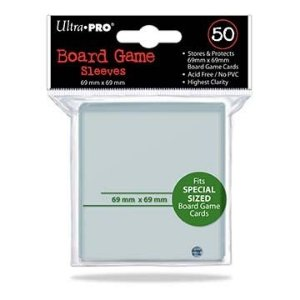 Sleeves Ultra PRO 69 x 69 mm – com 50 (Special Sized) - para Power Grid