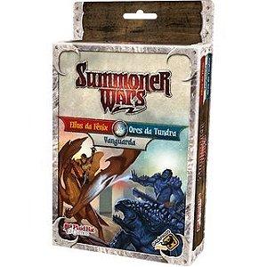 Elfos da Fênix Vs Orcs da Tundra Vs Vanguarda Summoner Wars