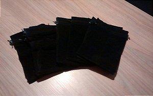 Dice Bag/Token Bag - Saco de Veludo 23 x 15 cm - Preto