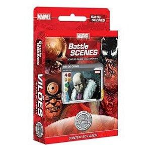 Deck Vilões - Universo Marvel - Battle Scenes - Jogo Nacional!