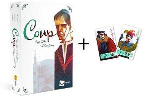 COMBO - Coup + Promo Bufão e Burocrata