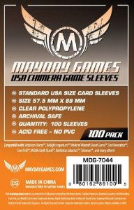 Sleeves Mayday 57.5x89mm - USA Chimera - Com 100 unidades