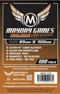 Sleeves Mayday 65x100mm - Magnum Copper - para 7 Wonders
