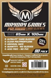 Sleeves Mayday - Magnum Copper PREMIUM 65x100mm c/80