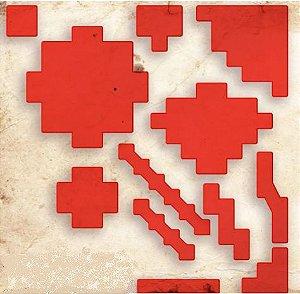 Área de Magia para RPG - Vermelha