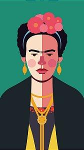 Ímã - Frida Kahlo - Ícones da História