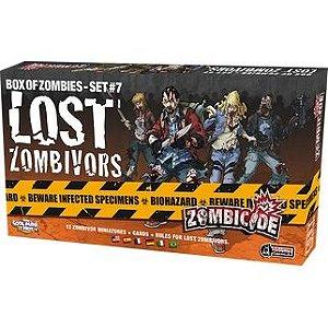 Lost Zombivors - Expansão de Zombicide - Em Português!