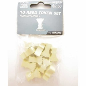 Kit com 10 Tokens de Cana - Reed Tokens - Mayday