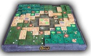 Krosmaster: Arena - Tabuleiro 3d em Resina