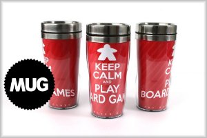 Mug Keep Calm and Play Board Games