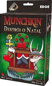 Munchkin Destrói o Natal - Expansão de Munchkin - Português!