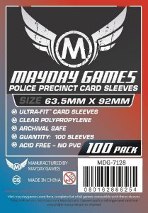 Sleeves Mayday - Police Precinct 63.5x92mm c/100