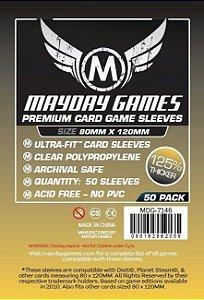 Sleeves Mayday - Magnum Gold PREMIUM 80x120mm c/50