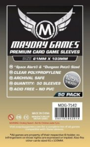 Sleeves Mayday - Magnum Space PREMIUM 61x103mm c/50