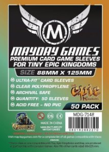 Sleeves Mayday - Tiny Epic PREMIUM 88x125mm c/50