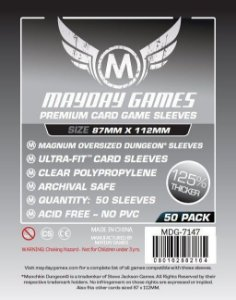 Sleeves Mayday 87x112mm - Magnum Oversized -PREMIUM