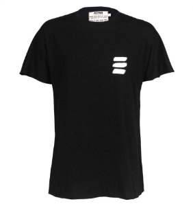"Camiseta Básica Preta ""Logo Manual"""
