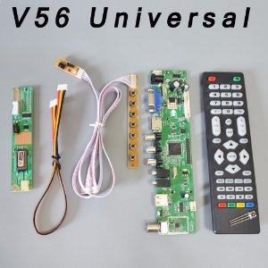 Kit Placa Controladora Universal Lcd V56 para telas de Notebooks LCD