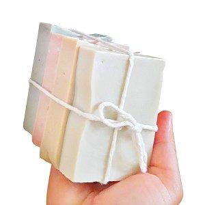 Kit Sabonetes e Xampus Linha Argiloterapia Veganos 100% Natural