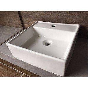 Cuba De Apoio Porcelana Branca Para Banheiro MP 5508 Manplex