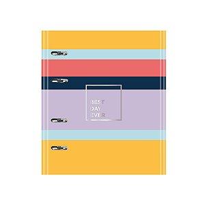 Caderno Argolado Fichário FC167 Allegro Listras Ótima Gráfica 5119-8