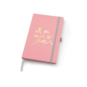 Caderno Papertalk Maxi Pautado Pink Stone Geométrico Ótima Gráfica 4511-1