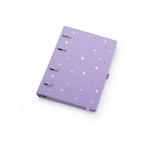 Planner Maxi Ótima Gráfica Caderno Organizador Romantic Lilás 4410-7