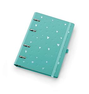 Planner Maxi Ótima Gráfica Caderno Organizador Romantic Verde + Roll Notes 4409-1