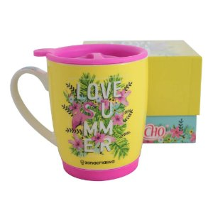 Caneca Capricho I Love Summer 320mL