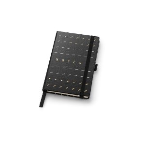 Caderneta Papertalk Mini Pontilhado Noir Traço Ótima Gráfica 4649-1