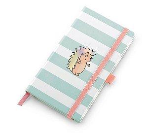 Caderneta Ótima Gráfica Papertalk Slim Pautado Riccio Listras 5963-7