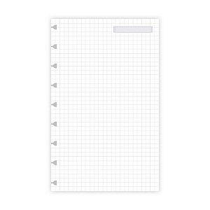 Refil Planner Ótima Gráfica Maxi LL Quadriculado 12,5x20cm 6021-3