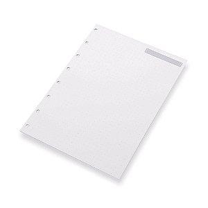 Refil Planner SystemFlex Maxi Pontilhado Ótima Gráfica 6022-0