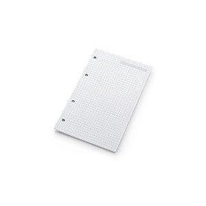 Refil Planner Maxi Ótima Gráfica Quadriculado 12,5x20cm 4873-0