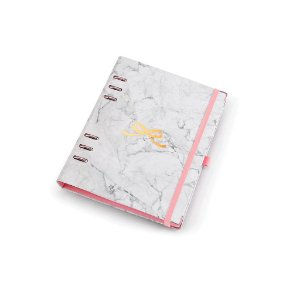 Planner A5 Ótima Gráfica Caderno Organizador Pink Stone Mármore 4908-9