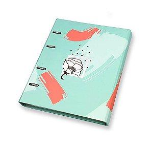 Caderno Argolado Fichário La Bella Ótima Gráfica 6207-1