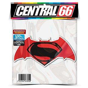 Adesivo Resinado Batman Vs Superman