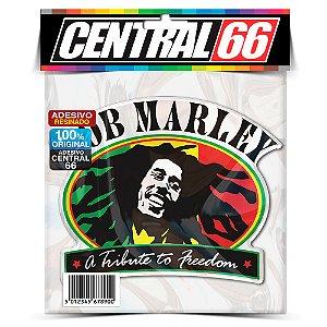 Adesivo Resinado Bob Marley Tribute
