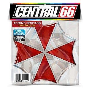 Adesivo Resinado Jogo Resident Evil - Logo Umbrella