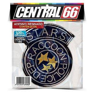 Adesivo Resinado Jogo Resident Evil - STARS S.T.A.R.S