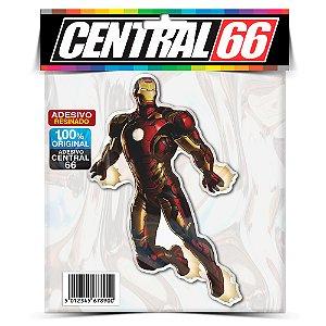 Adesivo Resinado Marvel - Iron Man