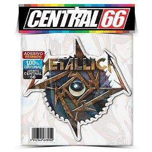 Adesivo Resinado Musica Metallica - Bolinha Cromada
