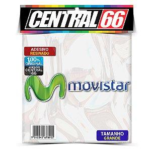 Adesivo Resinado Movistar (M + Escrita) - 17cm