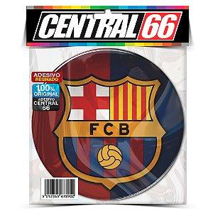 Adesivo Resinado Redondo Barcelona